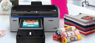 Новый текстильный принтер Epson SureColor SC-F2100