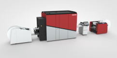 Рулонная цифровую печатная машина